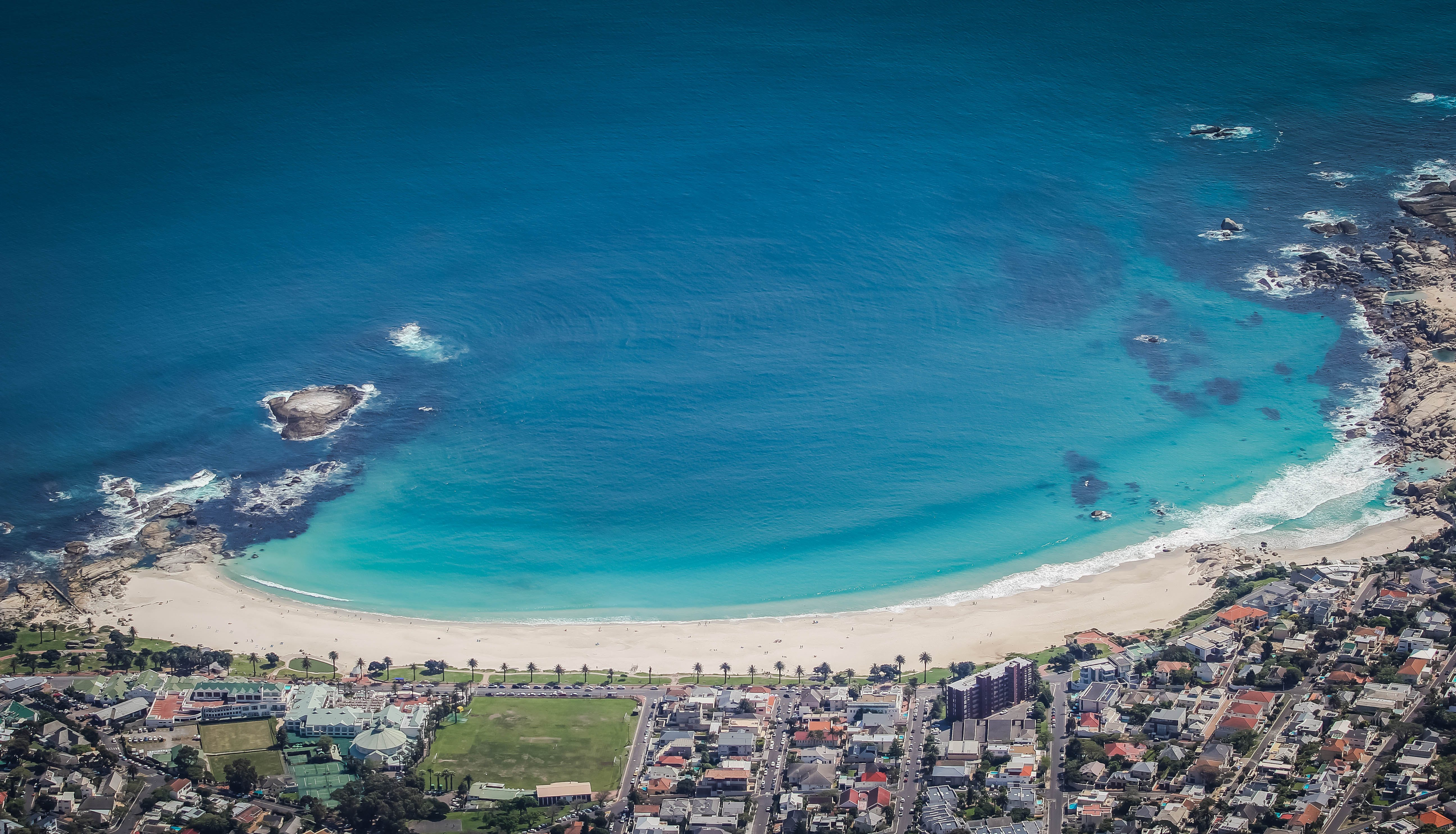 Free stock photo of beach, camps bay, Cape Town, south africa