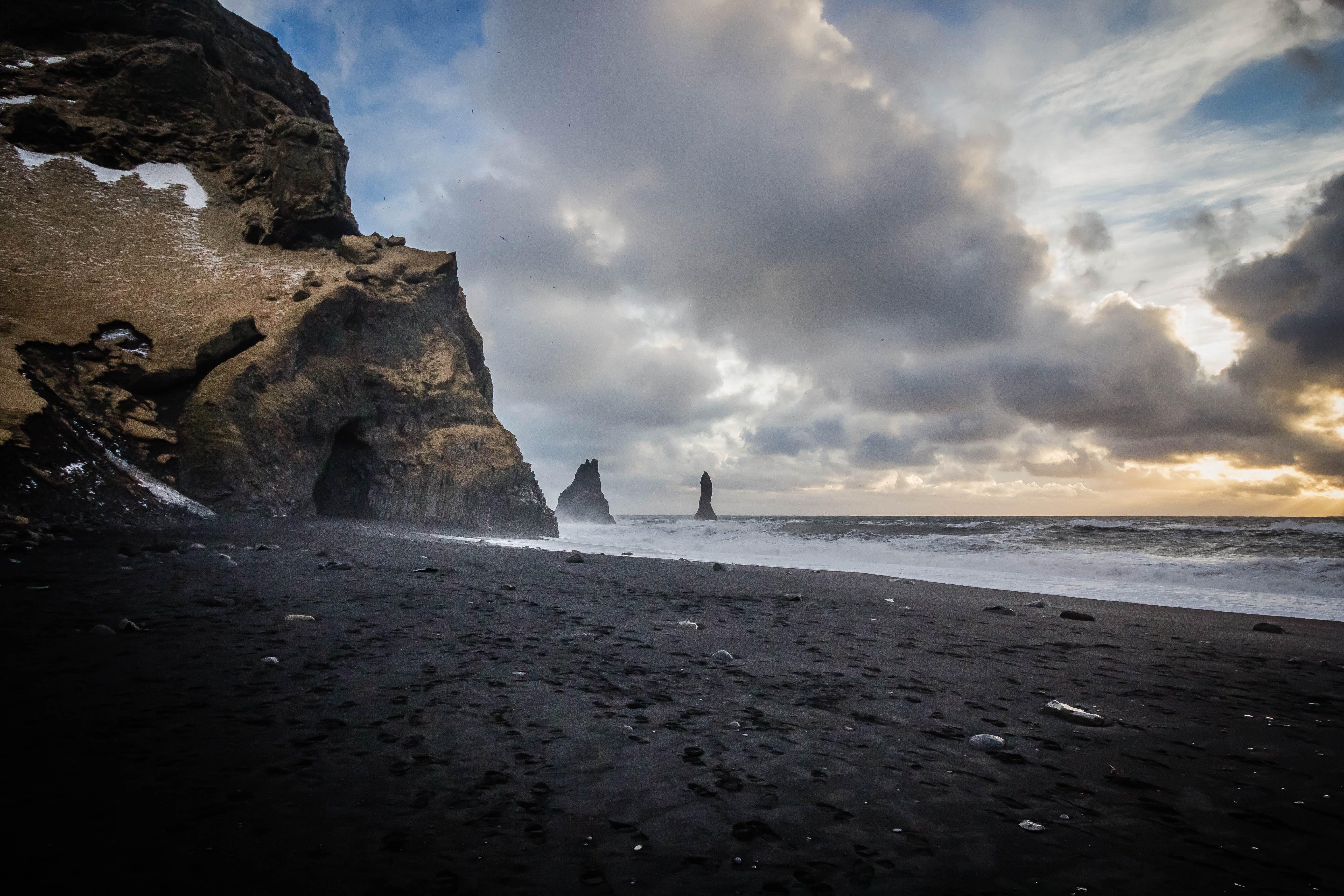 Photo Of Sea Near Cave