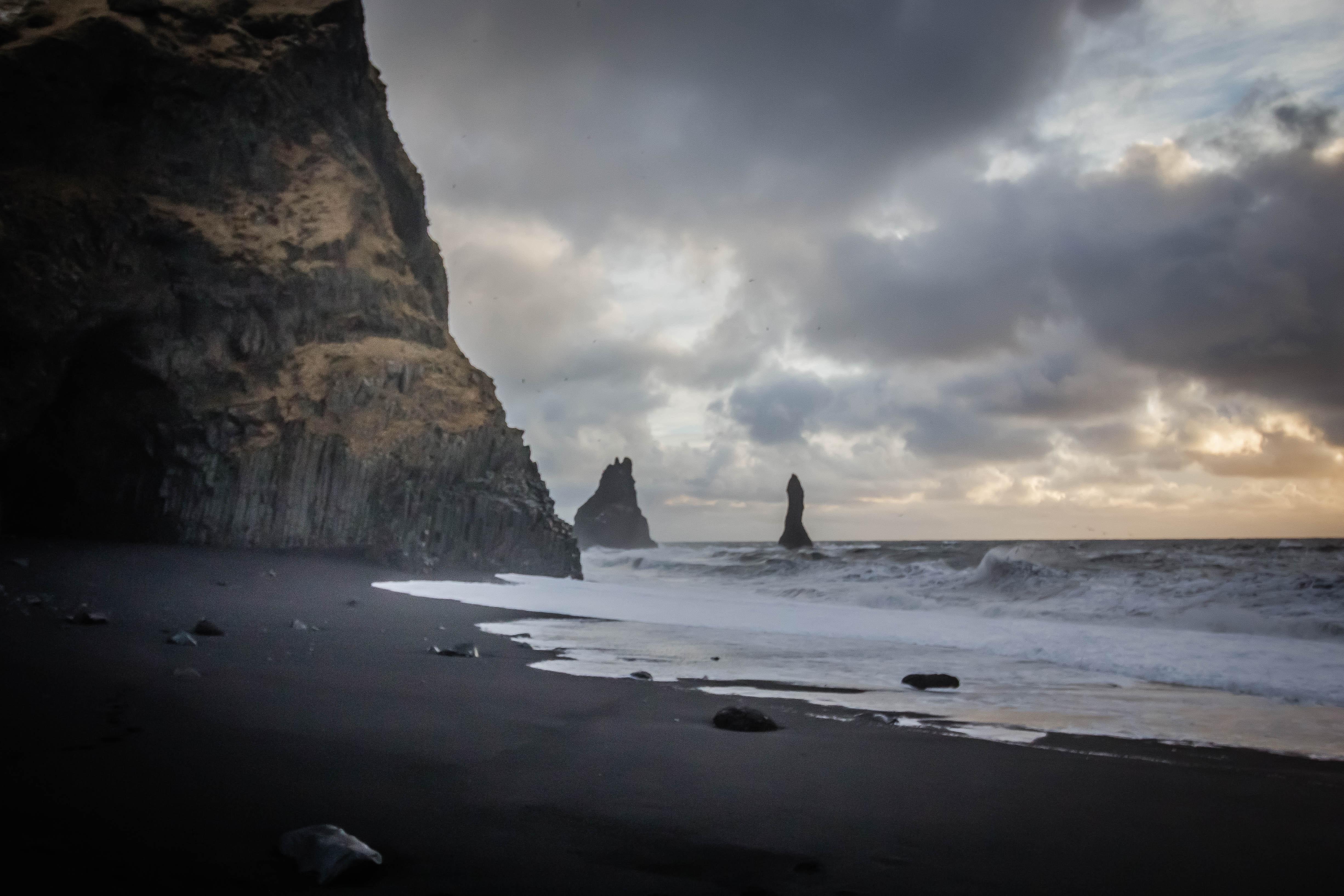 Free Stock Photo Of Beach Black Sand Iceland