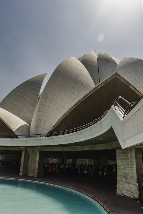 Kostnadsfri bild av arkitektonisk design, arkitektur, bassäng