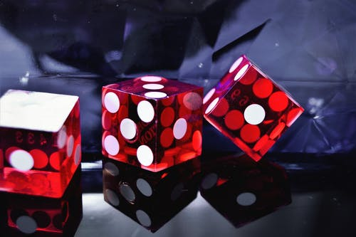 Free stock photo of casino, cube, dice, game