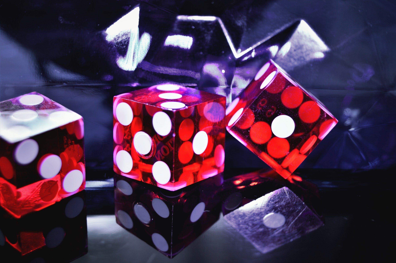 casino, cube, dice