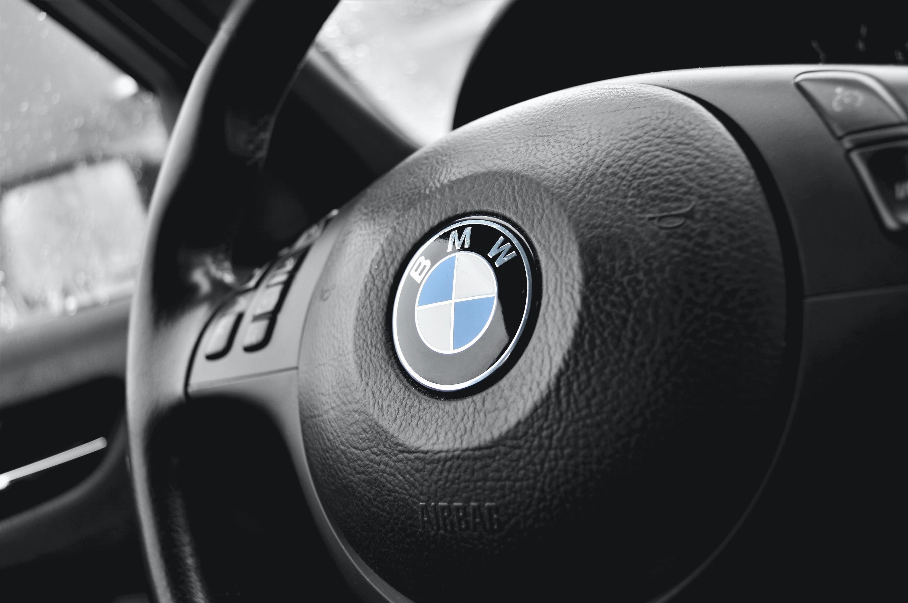 Free stock photo of 3-series, airbag, auto, BMW
