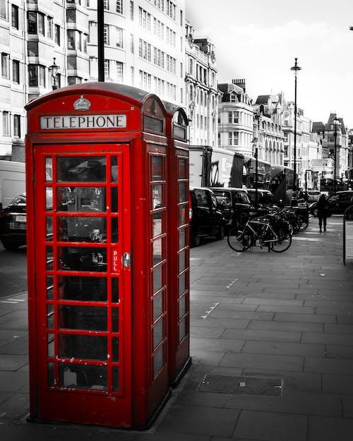 Бесплатное стоковое фото с лондон, телефон, улица