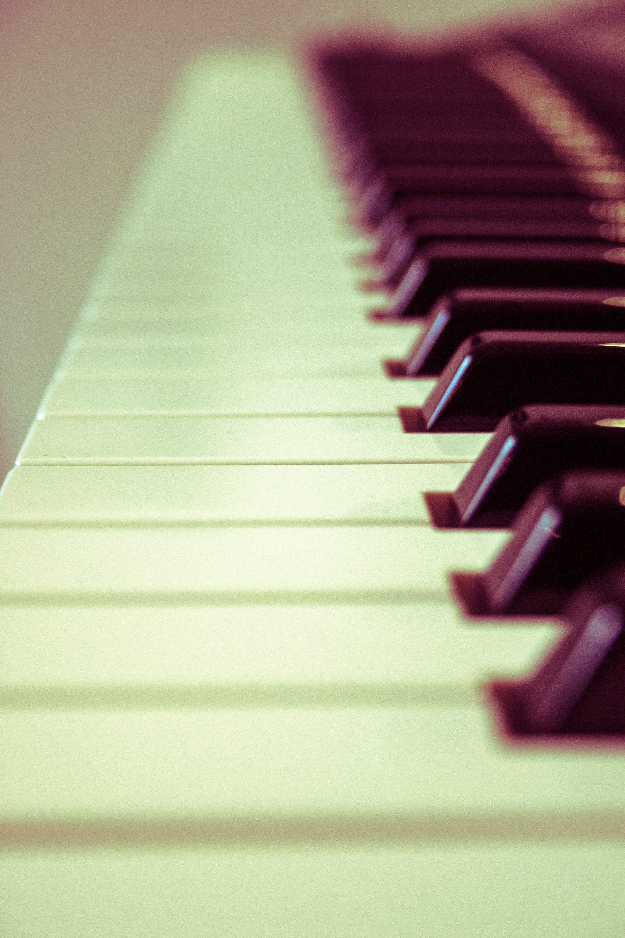 Kostenloses Stock Foto zu klaviertasten, musik, musikinstrument
