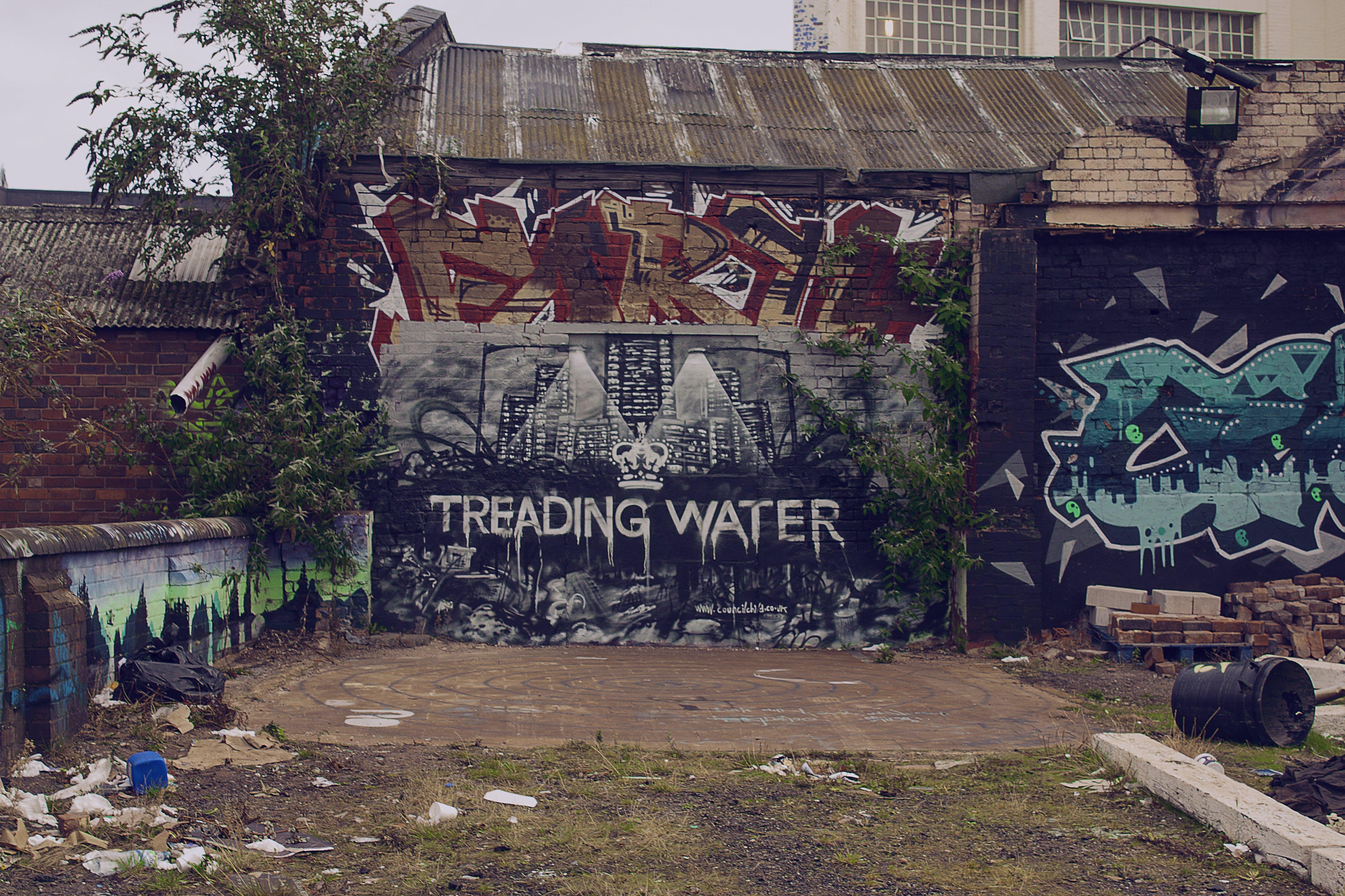 Kostenloses Stock Foto zu graffiti, grunge, stadt