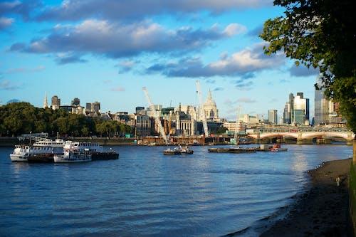 Free stock photo of city, city skyline, england