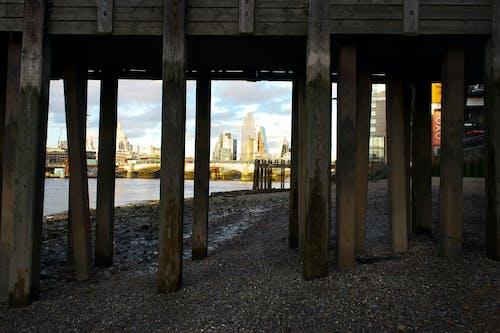 Free stock photo of blue sky, city, london