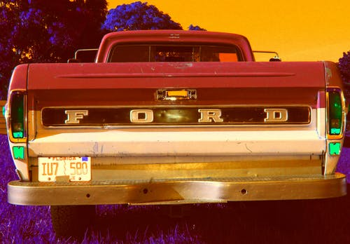 Free stock photo of ford, truck, warm colors