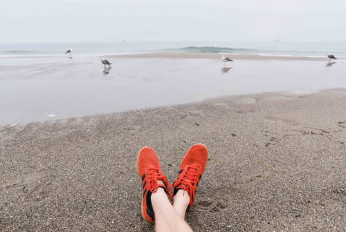 Gratis lagerfoto af afslappende, ferie, fødder, hav