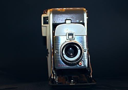 Free stock photo of black background, old camera, photo camera