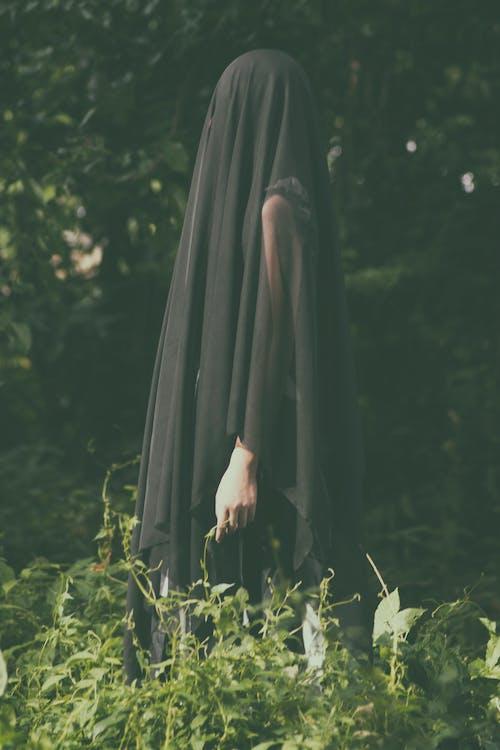Free stock photo of black lady, creepy, ghost