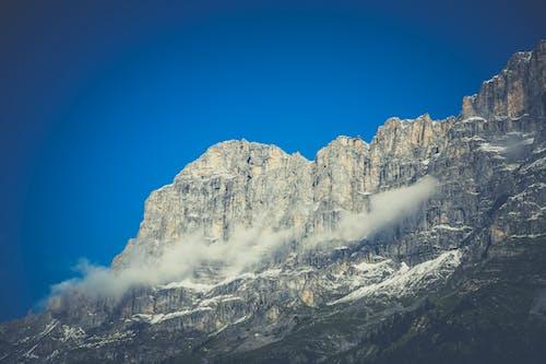 Clouds on Mountain Peak