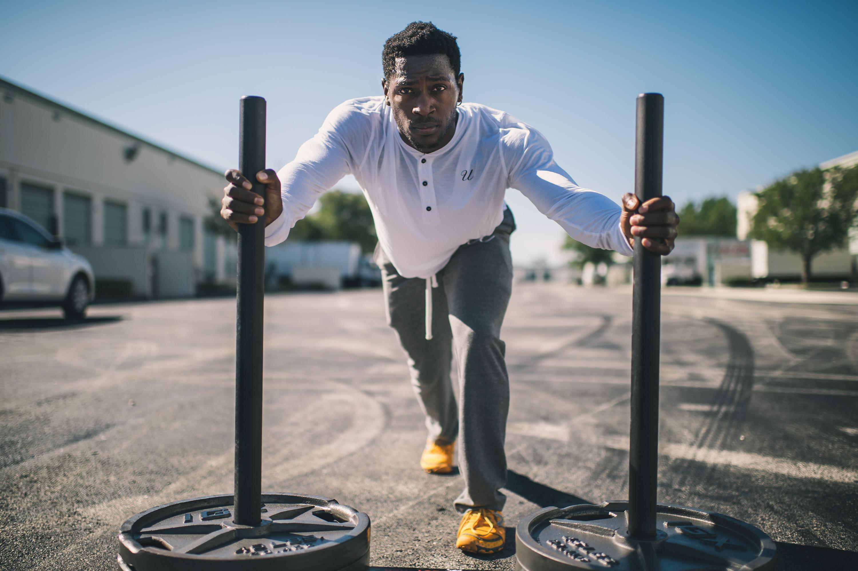 Free stock photo of man, person, sport, black