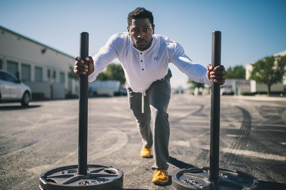 athlete, black, effort