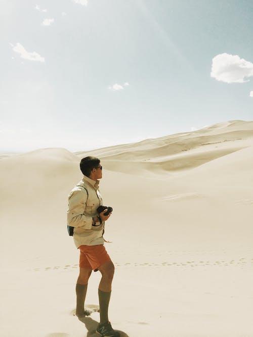 Immagine gratuita di africa, avventura, deserto, fotografo