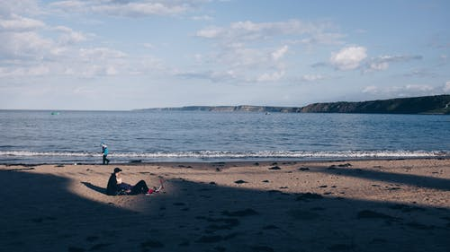 Бесплатное стоковое фото с активный отдых, берег, бирюзовый, вода