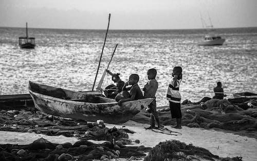 Photos gratuites de adulte, barque, bateau