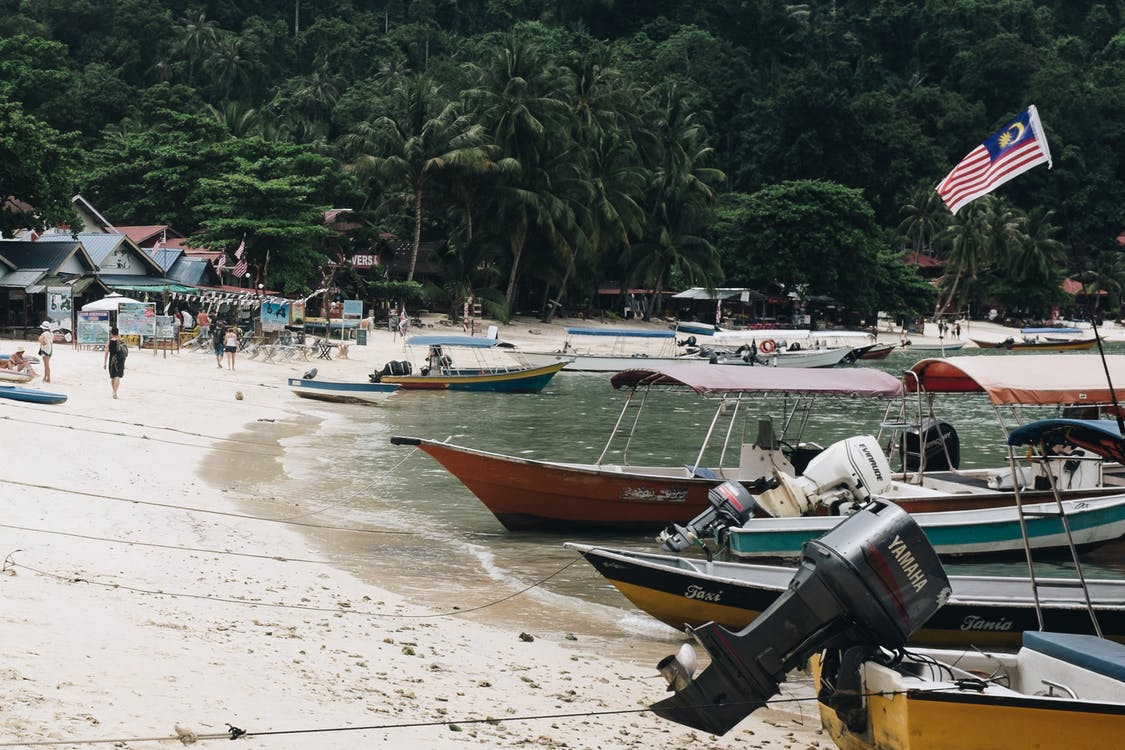 avslapping, båter, brygge