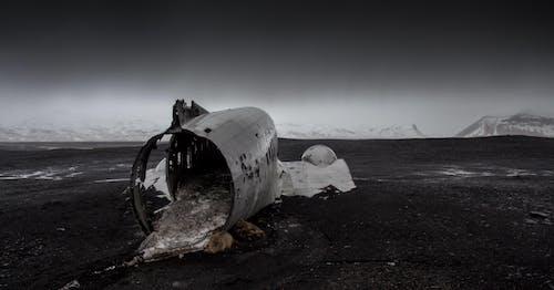 난파선, 비행기, 잔해, 충돌의 무료 스톡 사진