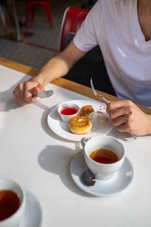 Δωρεάν στοκ φωτογραφιών με cafe, αγνώριστος, άνθρωπος