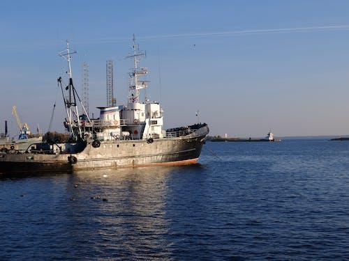 Бесплатное стоковое фото с корабли, корабль, морское судно
