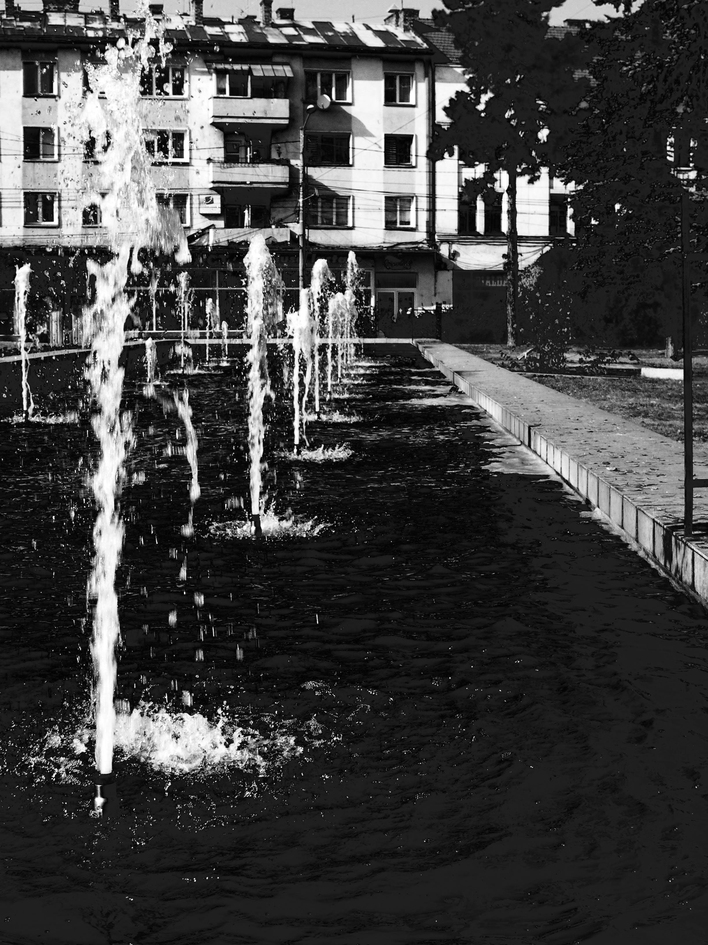 Foto d'estoc gratuïta de abocar, aigua, arquitectura, carrer