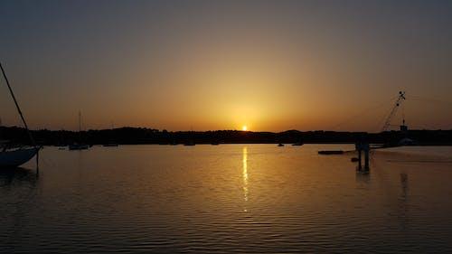 Free stock photo of by the sea, golden sun, morning light, morning sun