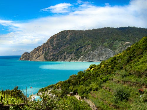 Free stock photo of bluffs, cinque terre, cliffs, copy space