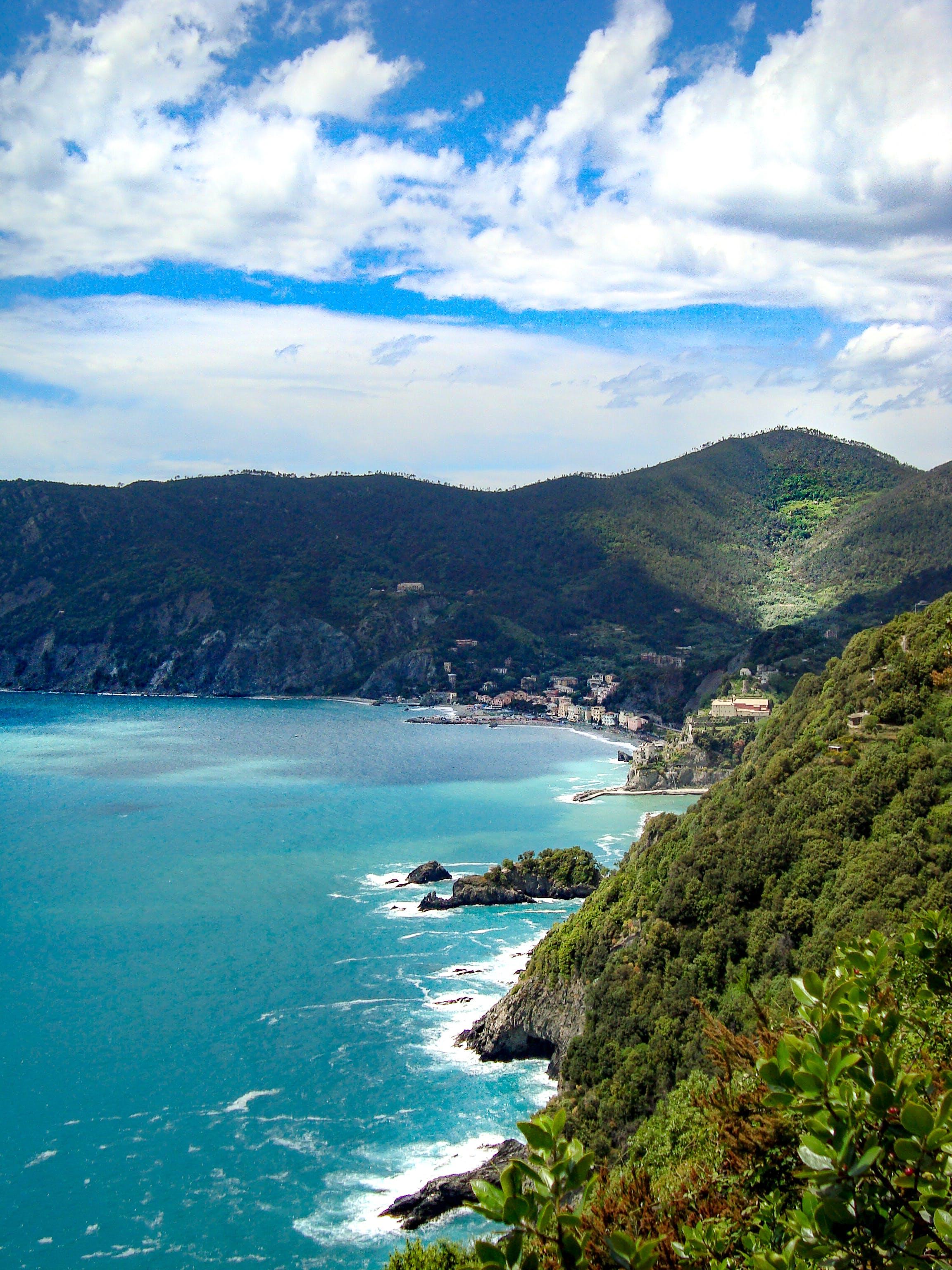 Δωρεάν στοκ φωτογραφιών με cinque terre, βουνό, γραφικός, θάλασσα