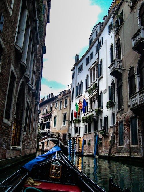 Бесплатное стоковое фото с архитектура, венеция, вода, водный транспорт