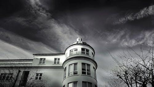 Ingyenes stockfotó ablakok, dóm, ég, építészet témában