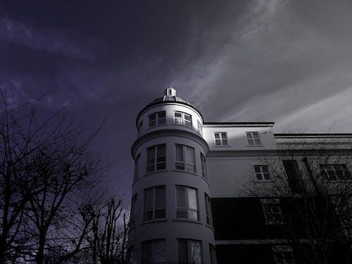 Fotobanka sbezplatnými fotkami na tému architektúra, budova, čierna a biela, kaštieľ