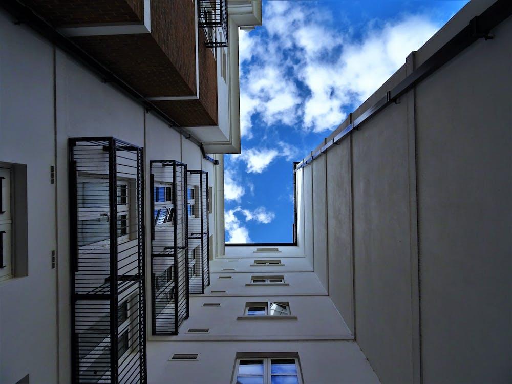 apartmány, architektúra, balkóny