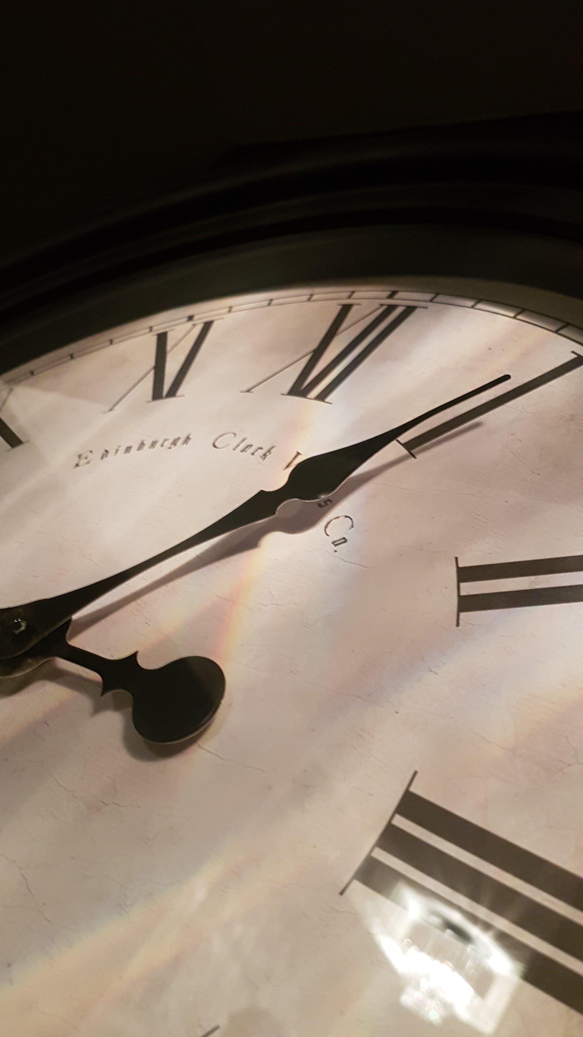 Free stock photo of clock, furniture, time