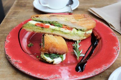 Fotobanka sbezplatnými fotkami na tému jedlo, obed, panini, sandwwich
