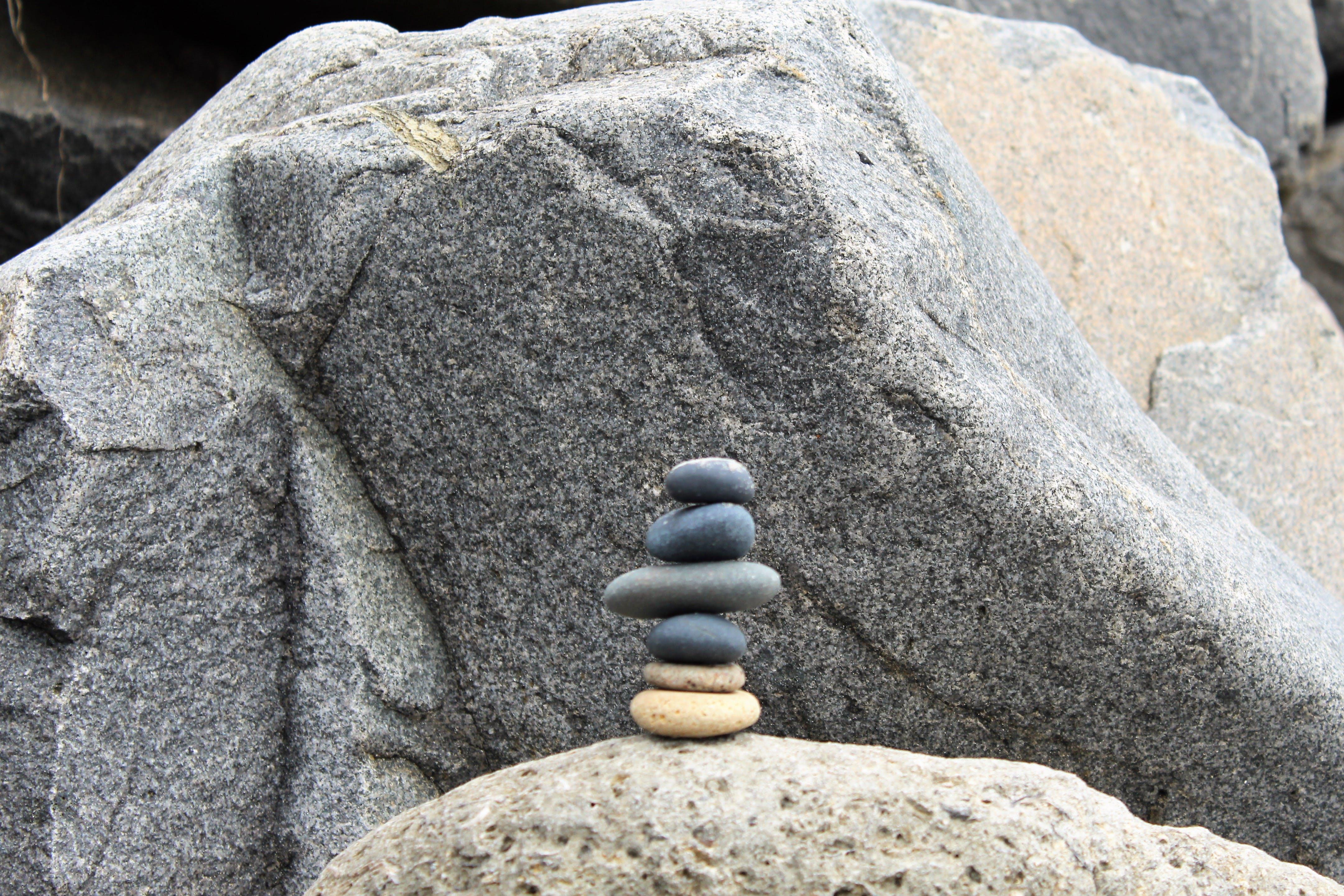 Kostenloses Stock Foto zu kieselsteine, steine, strand, zen