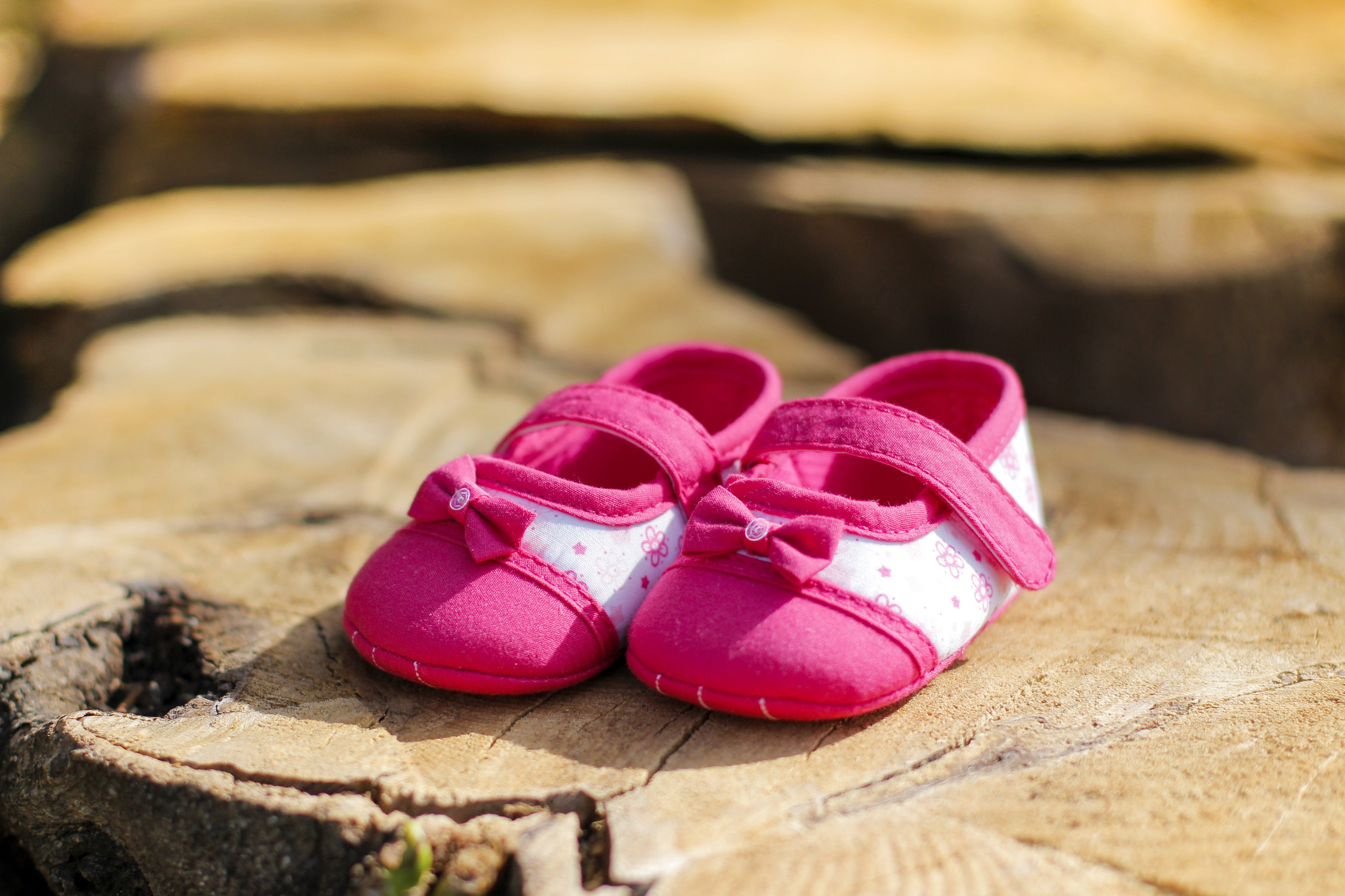 Baby's Pink Flats