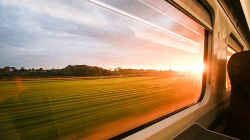 Free stock photo of cloudy, fancy train, first class