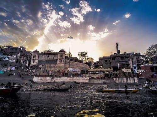 Δωρεάν στοκ φωτογραφιών με varanasi ghats