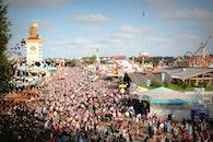 people, crowd, munich