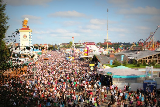 Image of the Oktoberfest festivals in Munich, Germany