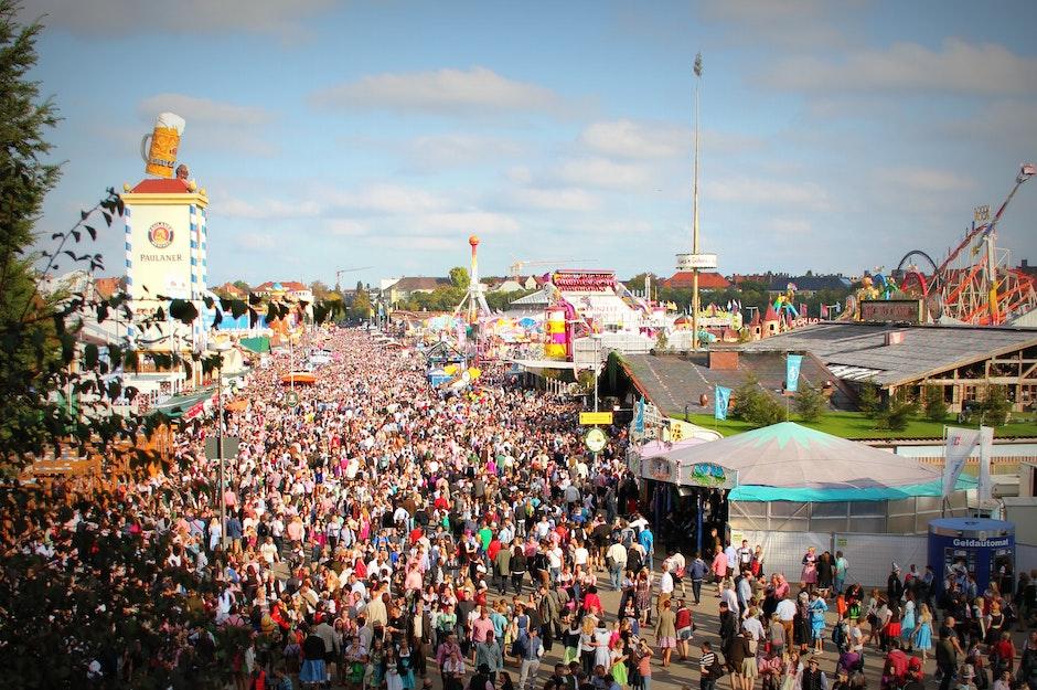 Bavaria, beer fest, beer tents