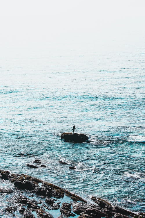 Foto d'estoc gratuïta de a l'aire lliure, acomiadar-se, aigua, cel