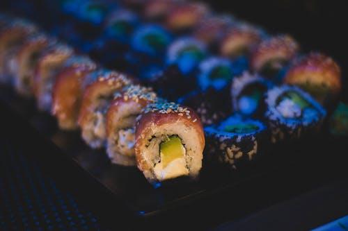 คลังภาพถ่ายฟรี ของ การถ่ายภาพอาหาร, จาน, ชิ้น, ซูชิ