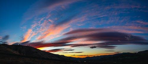 Gratis arkivbilde med daggry, dramatisk, farge