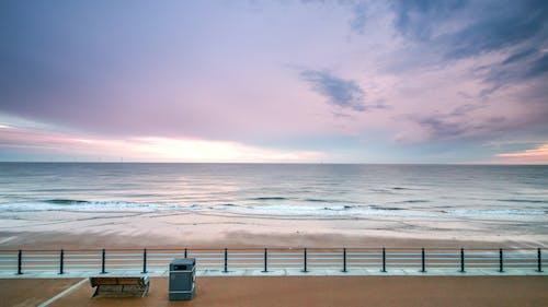 Free stock photo of beach, bench, chill