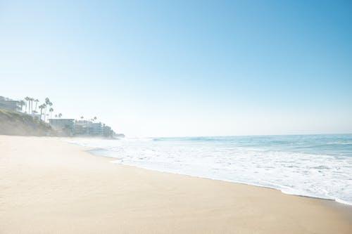 Free stock photo of beach, morning, sunrise
