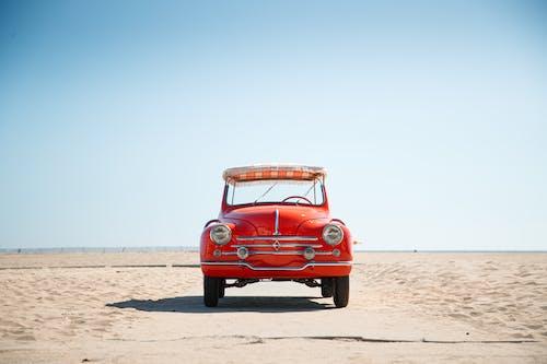 Δωρεάν στοκ φωτογραφιών με vintage, άμμος, αυτοκίνητο