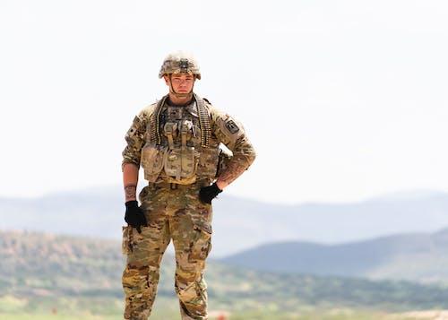 Gratis stockfoto met achtergrond, amerikaans leger, buiten